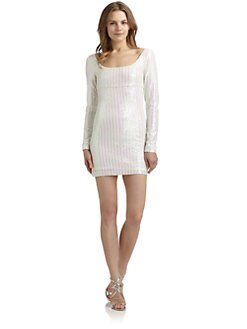 ABS - Sequin Shift Dress