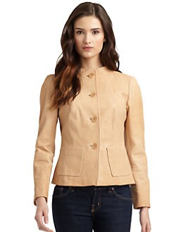 Lafayette 148 New York - Easton Leather Jacket
