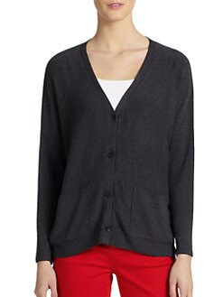 Eileen Fisher - V-Neck Long Cardigan