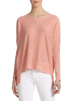 Eileen Fisher - Linen Hi-Lo Sweater