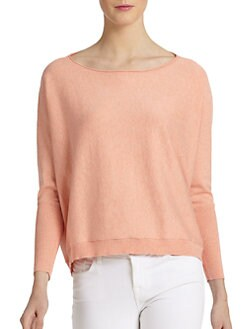 Eileen Fisher - Cotton/Cashmere Dolman Sweater