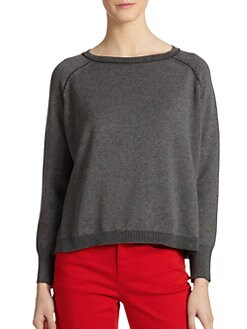 Eileen Fisher - Cotton Boatneck Sweater