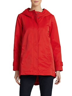 Eileen Fisher - Classic Hooded Windbreaker