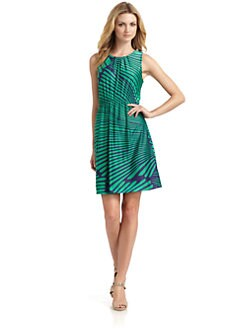 Julie Brown - Palm Jersey Dress