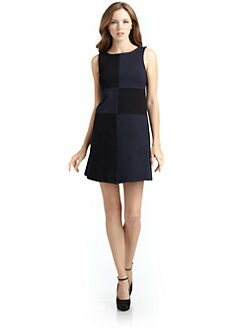 Julie Brown - Tatum Colorblock Sheath Dress
