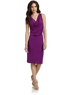 Josie Natori - Jersey Dress/Purple