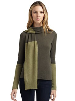 Cullen - Two-Toned Cashmere Sweater