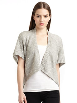 Cullen - Sequin Shrug Sweater