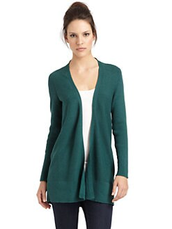 Eileen Fisher - Cotton Long Cardigan
