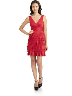 BCBGMAXAZRIA - June Pleated Cocktail Dress