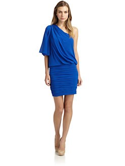 Jill by Jill Stuart - Chiffon One-Shoulder Cutout Dress