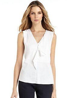 Elie Tahari - Mackenzie Ruffled Blouse