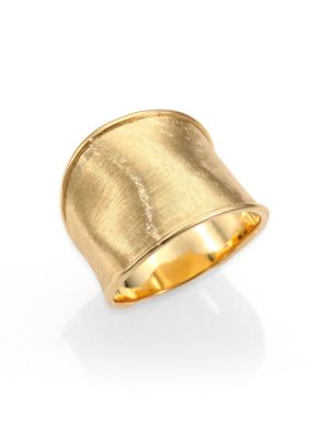 Lunaria 18K Yellow Gold Medium Band Ring