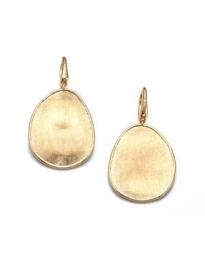 Lunaria 18K Yellow Gold Drop Earrings