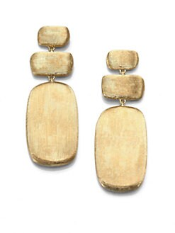 Marco Bicego - 18K Gold Rectangular Drop Earrings