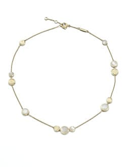 Marco Bicego - Mother-of-Pearl and 18K Yellow Gold Necklace