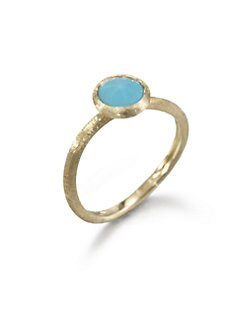 Marco Bicego - Turquoise and 18K Yellow Gold Ring