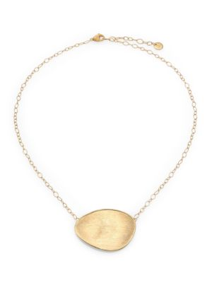 Lunaria 18K Yellow Gold Pendant Necklace