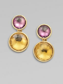 Marco Bicego - 18K Gold Semi-Precious Multi-Stone Drop Earrings