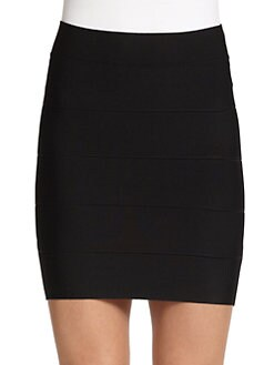 BCBGMAXAZRIA - Simone Banded Skirt