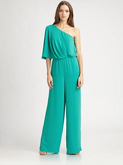 BCBGMAXAZRIA - Asymmetrical Lee Jumpsuit