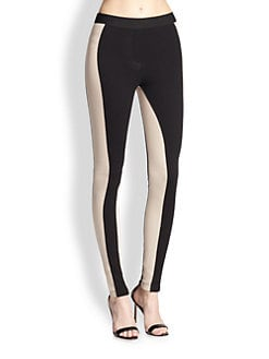 BCBGMAXAZRIA - Side-Striped Leggings