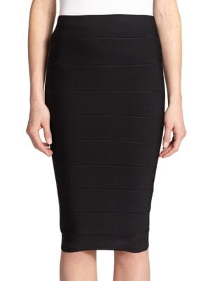 Leger High-Waist Bandage Skirt plus size,  plus size fashion plus size appare