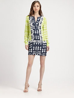 BCBGMAXAZRIA - Clementin Woven Dress