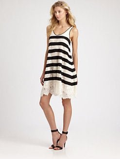 BCBGMAXAZRIA - Augustin Striped Dress