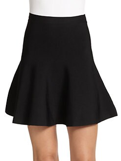 BCBGMAXAZRIA - Ponte Knit Flare Skirt