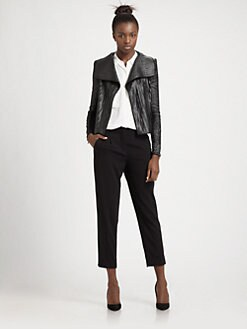 BCBGMAXAZRIA - Faux Leather Jacket