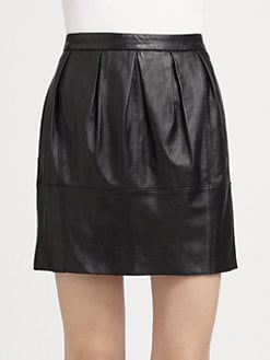 BCBGMAXAZRIA - Leather Skirt