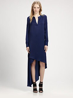 BCBGMAXAZRIA - Asymmetric Shift Dress