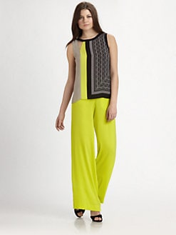 BCBGMAXAZRIA - Elicia Asymmetric Sleeveless Top