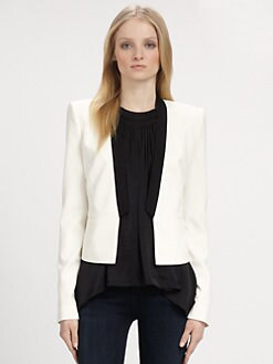 BCBGMAXAZRIA - Contrast Blazer