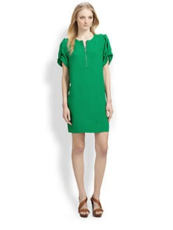 BCBGMAXAZRIA - Tab-Sleeve Dress