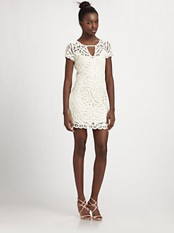 BCBGMAXAZRIA - Gardenia Crochet Dress