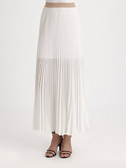 BCBGMAXAZRIA - Accordion Maxi Skirt