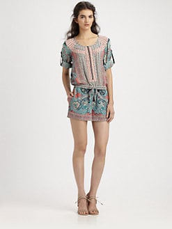 BCBGMAXAZRIA - Tahiti Short Jumpsuit