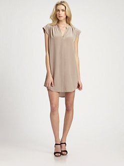 BCBGMAXAZRIA - Safari Silk Tunic