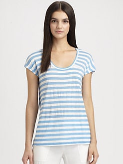 BCBGMAXAZRIA - Riley Striped Tee
