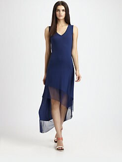 BCBGMAXAZRIA - Kendall Asymmetric Jersey Dress
