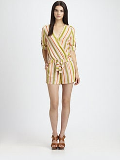 BCBGMAXAZRIA - Kelly Striped Jumpsuit