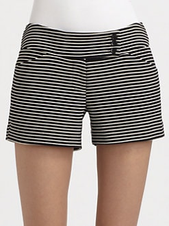 BCBGMAXAZRIA - Pia Striped Shorts