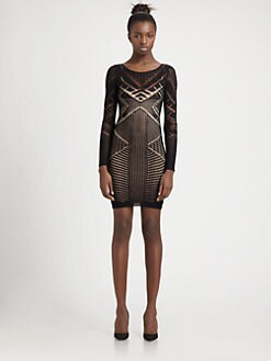 BCBGMAXAZRIA - Amur Lace Dress