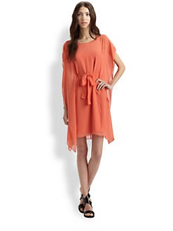 BCBGMAXAZRIA - Corissa Silk Dress