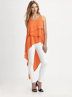BCBGMAXAZRIA - Karlie Asymmetrical Top