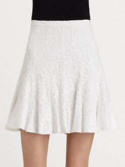 BCBGMAXAZRIA - Quinnie Lace Skirt