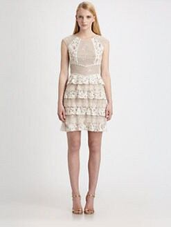 BCBGMAXAZRIA - Kayla Lace Dress
