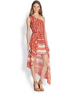 BCBGMAXAZRIA - Margo One-Shoulder Dress